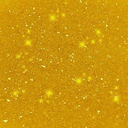 Yellow Rainbow Disco Glitter
