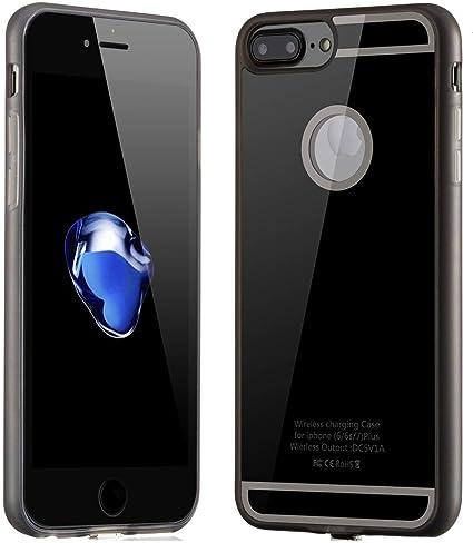 Amazon.com: Carga Inalámbrica receptor Funda para iPhone 6 ...