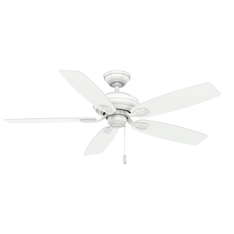 Casablanca Fan Company 54037 Utopian Ceiling Fan, 52, Snow White