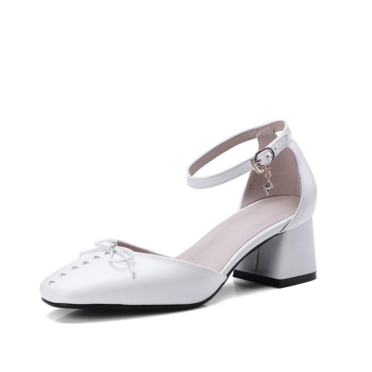 JING Sandales white féminines Chaussures Femmes Cuir Creux Doux Sandales tirant la à Créneaux en Noeud Papillon à la Taille de l audacieuse Femme Code Sandales white d0e3a42 - epictionpvp.space