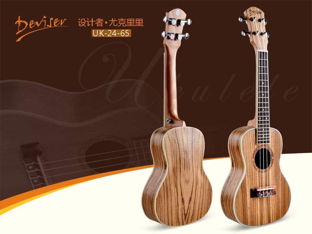 BZAHW Cierre Ukelele Hawaiano pequeña Guitarra de Cuatro Cuerdas ...