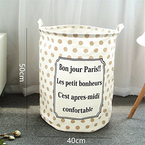 BranXin - pink blue Storage Basket For Toys 4050cm Laundry B