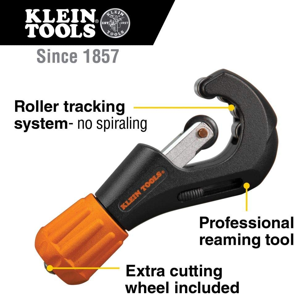 Klein Tools 88904 Professional Tube Cutter - Electrical Tools -