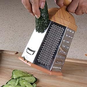 Six-sided vertical planing mill, versatile shredder, potato Julienne slicer, planing melon peeler