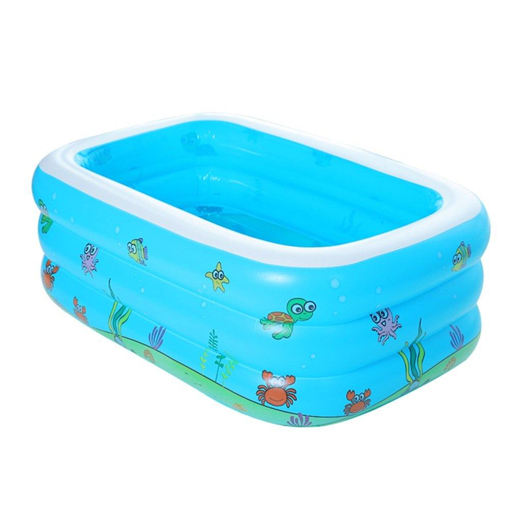 CQYGZHL Aufblasbare Badewanne, Baby Bath Barrel Verdickung Isolierung Kinderschwimmbecken Badewanne (größe : 125 * 85 * 45cm)