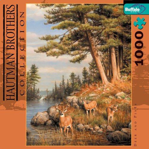 Buffalo Games Hautman: Deer & Pines