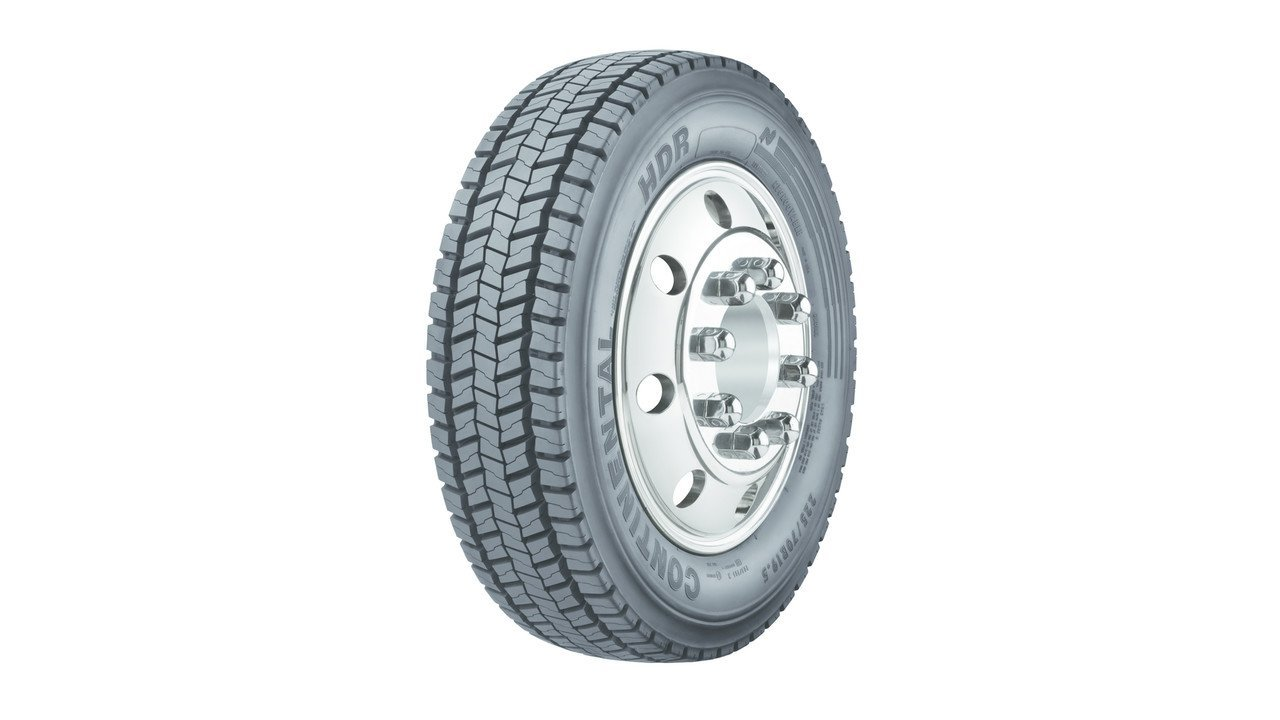 Continental HDR US O/O RD Traction Radial Tire - 225/70R19.5 G 128N by Continental (Image #1)