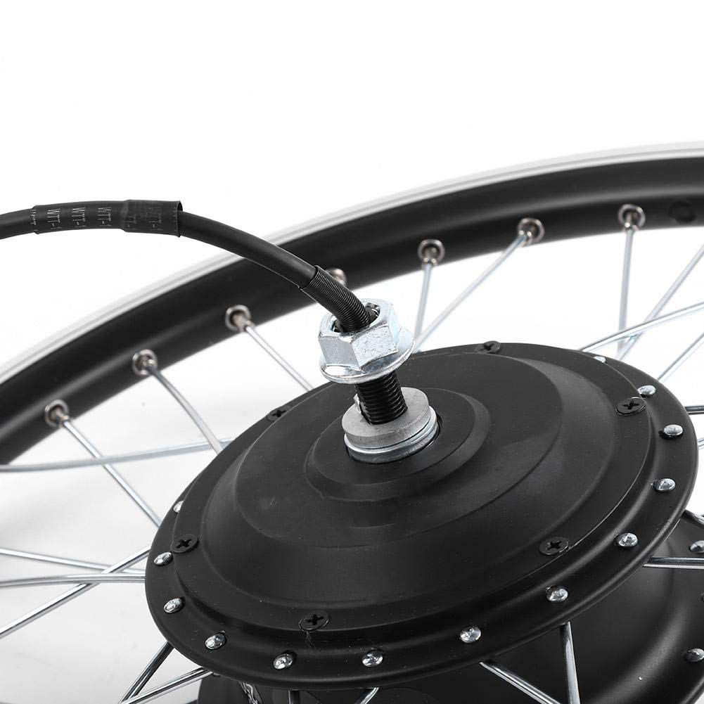 "Motor trasero 48V Pantalla LED 26/"" Rueda Delantera//Trasera Juego de Ruedas El/éctricas de Bicicleta para Bicicleta de Carretera Kit de Bicicleta El/éctrica 36V//48V 350W Kit de Conversi/óne Bike"