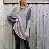 XOWRTE Blouse for Women Loose Long Sleeve T-Shirt