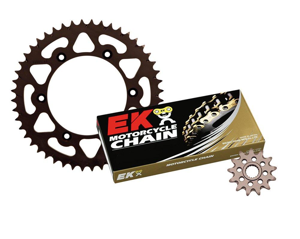 Outlaw Racing DASK20EK Aluminum Sprocket Kit with EK Gold Chain 49-13