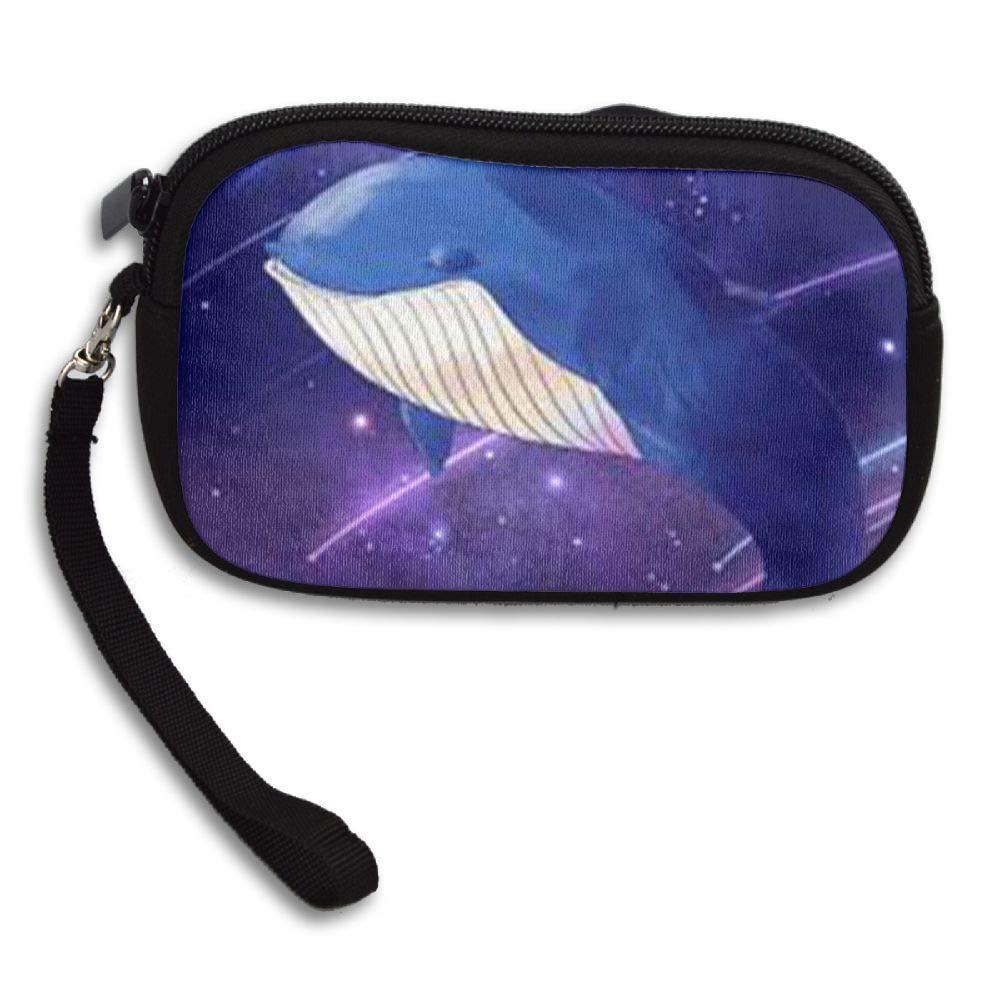HACVREQ Unisex Personalized Wallet,Cute Whale Purse Bag Woman Ladies Men Gentlemen