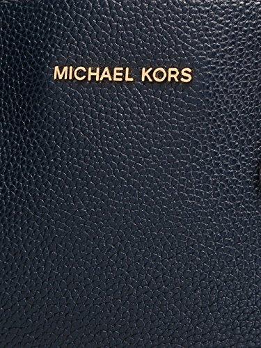 MICHAEL BY MICHAEL KORS BORSA A MANO DONNA 30F6GM9T3L414 PELLE BLU