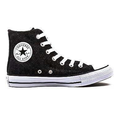 Converse Chuck Taylor All Star Hi Sneakers schwarz, Größe 41