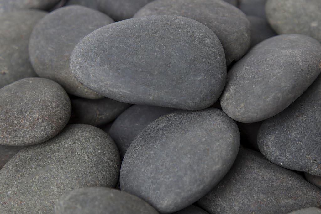 Amazon Com Margo 20lb Landscape Rocks Decorative Rock Feature Large Mexican Beach Pebble 3 In To 5 In Garden Outdoor