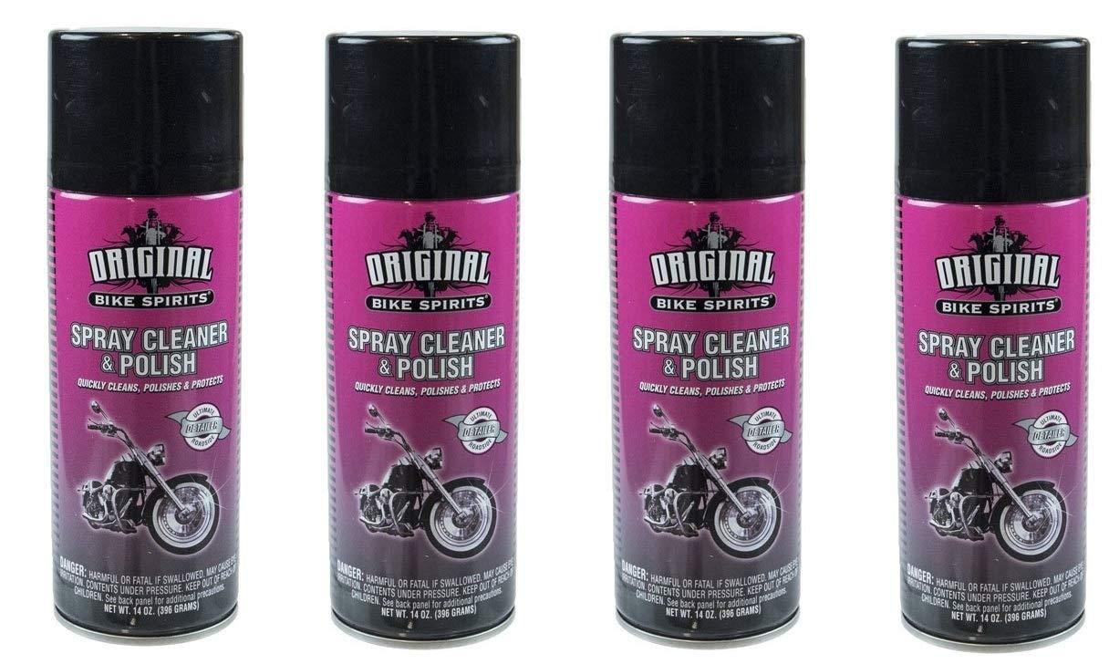 ORIGINAL BIKE SPIRITS Spray Cleaner and Polish 14 Ounce Aerosol AJ2719 (4)