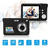 HD Mini Digital Camera with 2.7 Inch TFT LCD Display, Digital Video Camera Black-- Sports,Travel,Camping,Birthday&Christmas Gift