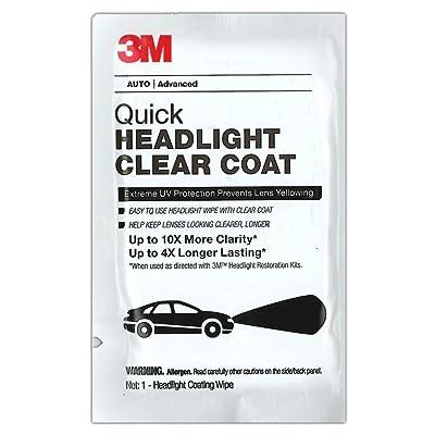 3M Headlight Clear Wipes 40/BX (3M-32516): Automotive