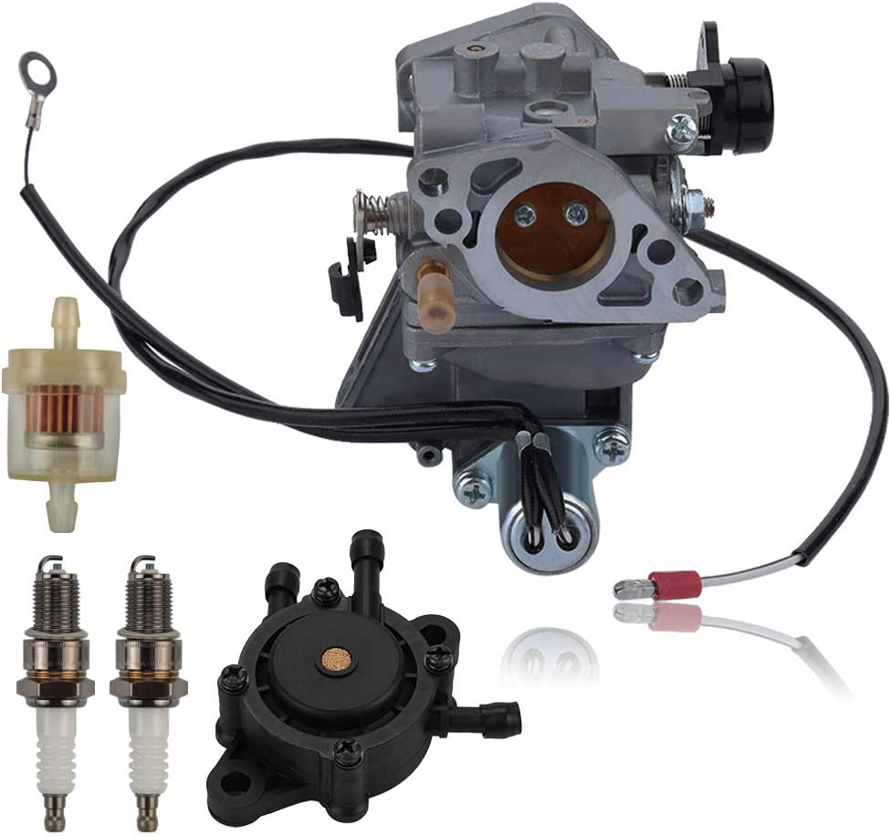 Alibrelo GX 610 Carburetor for Honda GX610 18HP GX620 20HP V-Twin Engines with Fuel Pump Spark Plug Fuel Filter Replace 16100-ZJ0-871 16100-ZJ0-872 16100-ZJ1-872