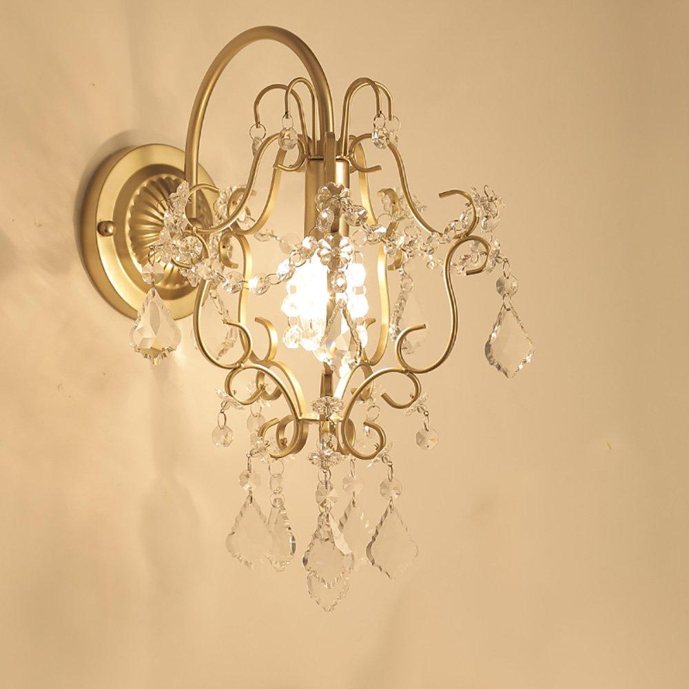 garanzia di credito TOYM UK Lampada da parete in cristallo in stile americano americano americano Lampada da parete a due piani in vetro a soffitto Corridoio moderno a corridoio  vendite online