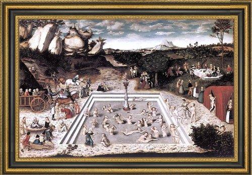 Cranach Fountain (The Elder Lucas Cranach The Fountain of Youth - 16.25