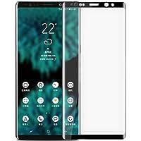 Microsonic 16950 Samsung Galaxy Note 9 Tam Kaplayan Temperli Cam Ekran koruyucu Kırılmaz Film Siyah
