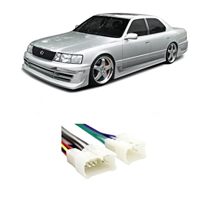 Amazon Fits Lexus Ls400 19901992 Factory Stereo To Aftermarket. Fits Lexus Ls400 19901992 Factory Stereo To Aftermarket Radio Harness Adapter. Lexus. 91 Lexus Ls400 Wiring Color Code At Scoala.co
