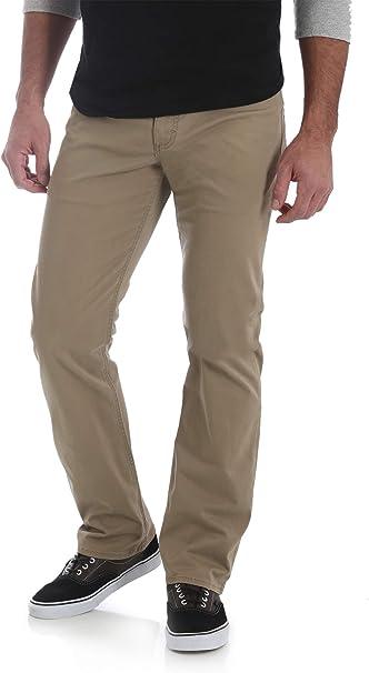 Wrangler Men/'s Straight Fit 5 Pocket Pants Jeans with Flex