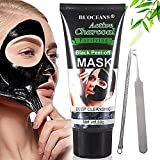 Charcoal Peel Off Mask,Blackhead Remover Mask, [Removes Blackheads] – Purifying Quality Black Peel off Charcoal Mask – Deep Cleansing Acne Mask – Best Mud Facial Mask