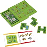Smart Games - Escondite en la selva, juego de ingenio con retos progresivos (51311)