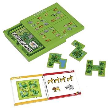 Smart Games Escondite En La Selva Juego De Ingenio Con Retos