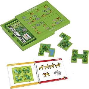 smart games - Escondite en la Selva, Juego de ingenio con