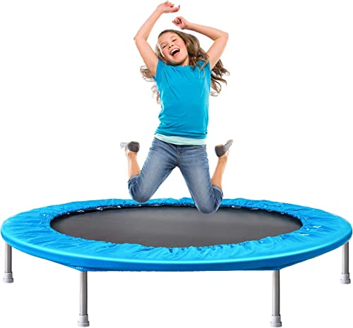 Bronze Tree 36-Inch Trampoline for Kid Foldable Children, and Suitable Padded Cover Indoor Outdoor Use for Child Age 3 , 2style