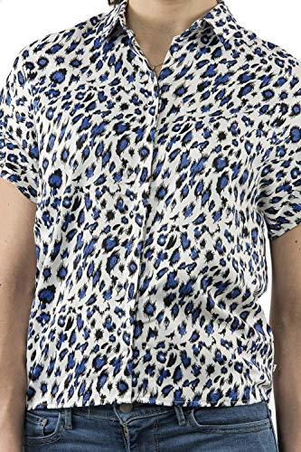 Donna Cerises shirt T Temps Le Des Blu XqgEPpxw4x