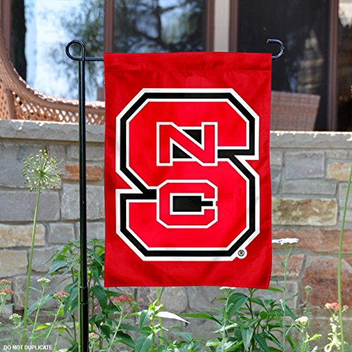 North Carolina State University Garden Flag and Yard Banner (Carolina North State University Red)