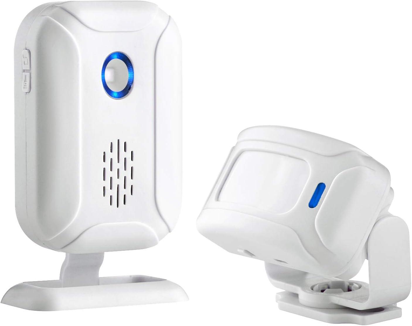 Motion Sensor Doorbell, Door Chime for Business Entry, Store Welcome Buzzer Monitor,Motion Sensor Detect Alarm, Caregiver Reminder for Elderly, Visitor Bell