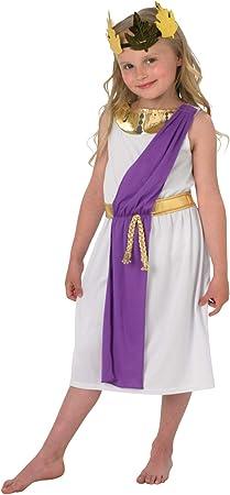Rubies 640204 - Disfraz de romana para niña (tallas de 9 a 10 años ...