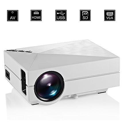 cygoodluck GM60 Mini portátil HDMI Proyector 1000Lumens LED Pico ...