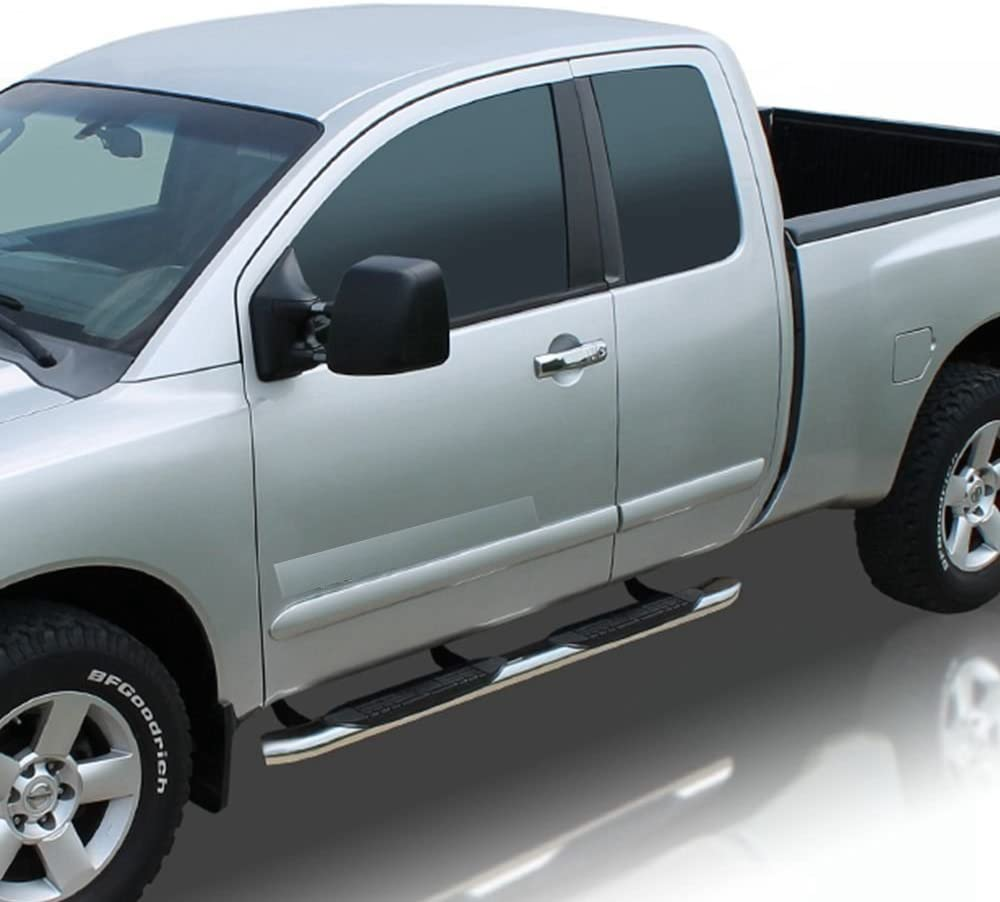 """Black 5/"""" Oval Curved Tube Side Step Nerf Bar for 15-17 Canyon//Colorado Ext Cab"""