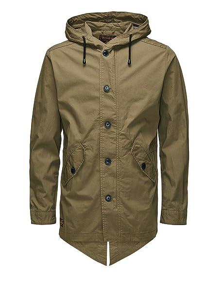Small Jones l Uomo Leggera Giacca Parka Jack Vintage Jacket amp; Coin 54qvxz