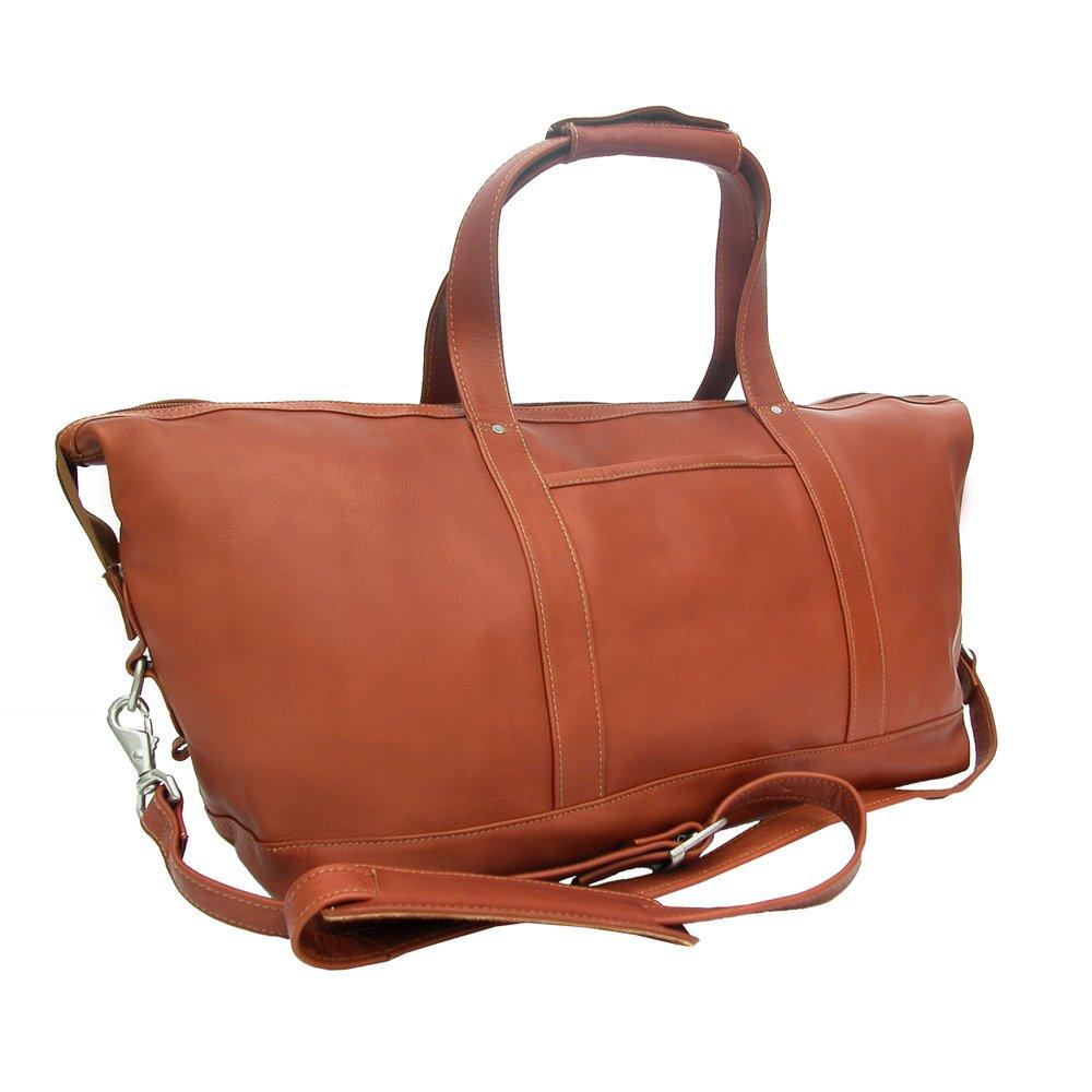 One Size Chocolate Piel Leather Medium Carry-On Satchel