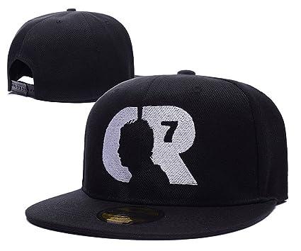 Amazon.com  Cristiano Ronaldo CR7 Logo Adjustable Snapback Caps ... 34f51c27429