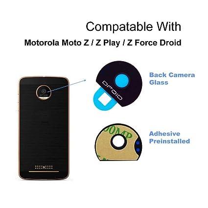 sale retailer 1819a fef42 ACUTAS Camera Glass Plastic Lens Cover for Motorola Moto Z Play