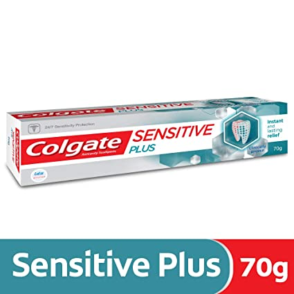 d2a119c81 Buy Colgate Sensitive Plus Anticavity Toothpaste - 70g Online at Low Prices  in India - Amazon.in