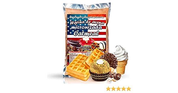American Suplement - Harina de Avena Micronizada - 1kg (BOMBON ROCHER): Amazon.es: Salud y cuidado personal