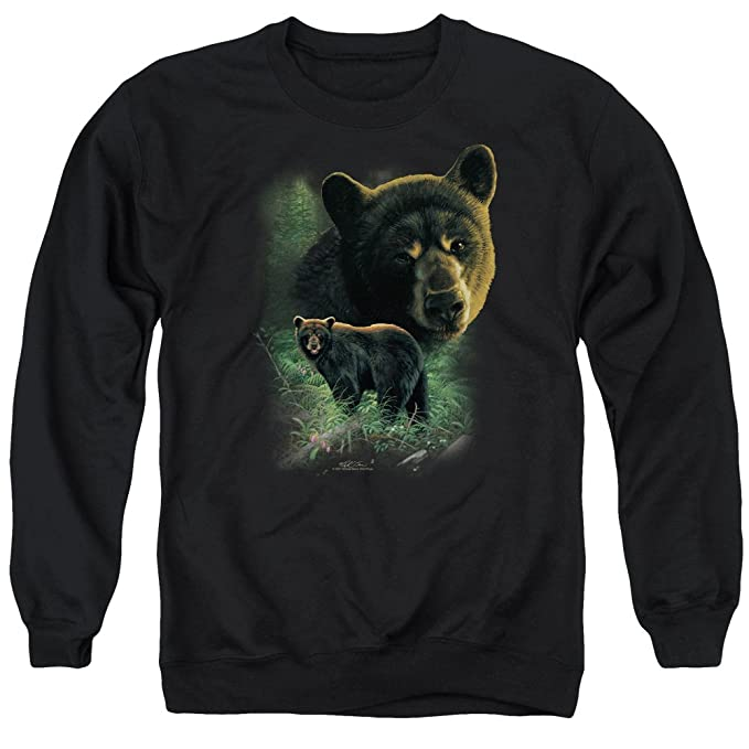 Apologise, but Black bear adult sweatshirt