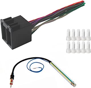 amazon com factory radio replacement wires that plug into nissan wire connectors 1985 nissan radio wiring harness #15