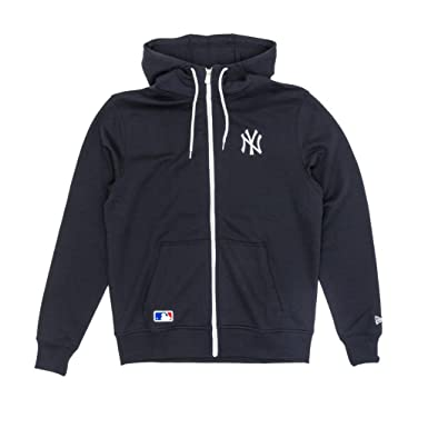 Sudadera capucha New Era - Mlb New York Yankees Team Apparel azul talla: S (Small): Amazon.es: Ropa y accesorios
