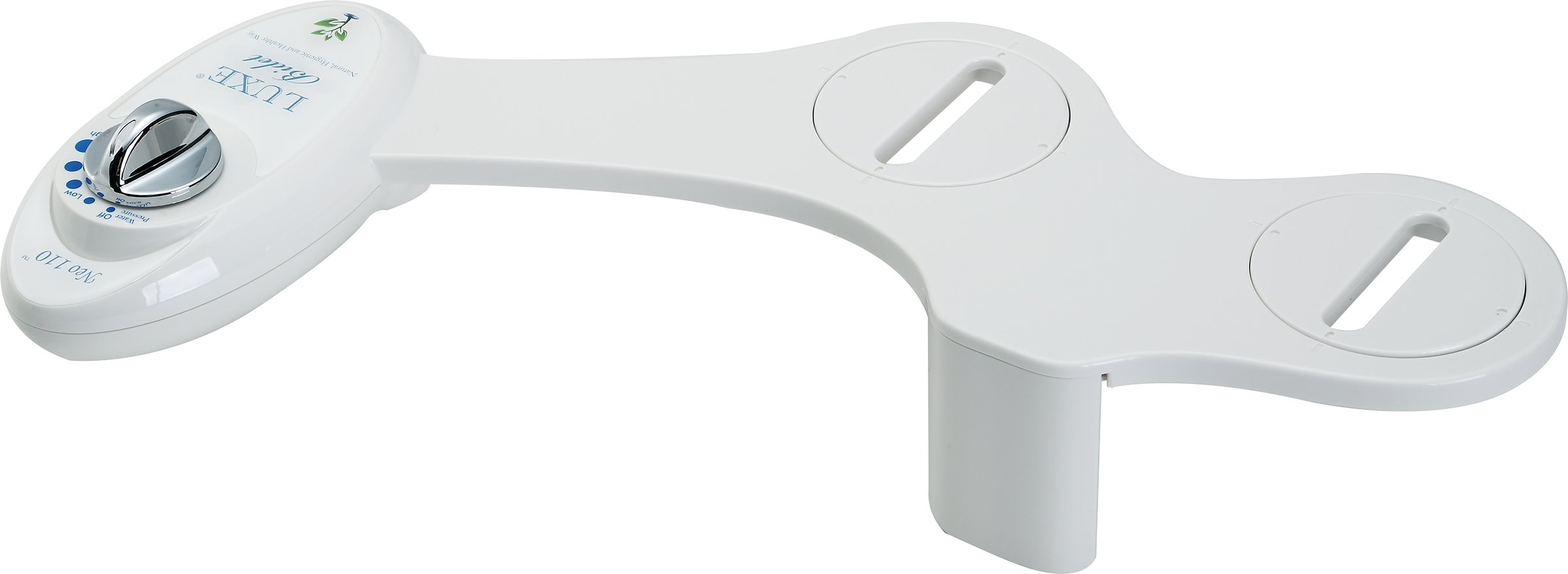 Luxe Bidet Neo 110 - Fresh Water Non-Electric Mechanical Bidet Toilet Seat Attachment (white and white) by LUXE Bidet (Image #3)