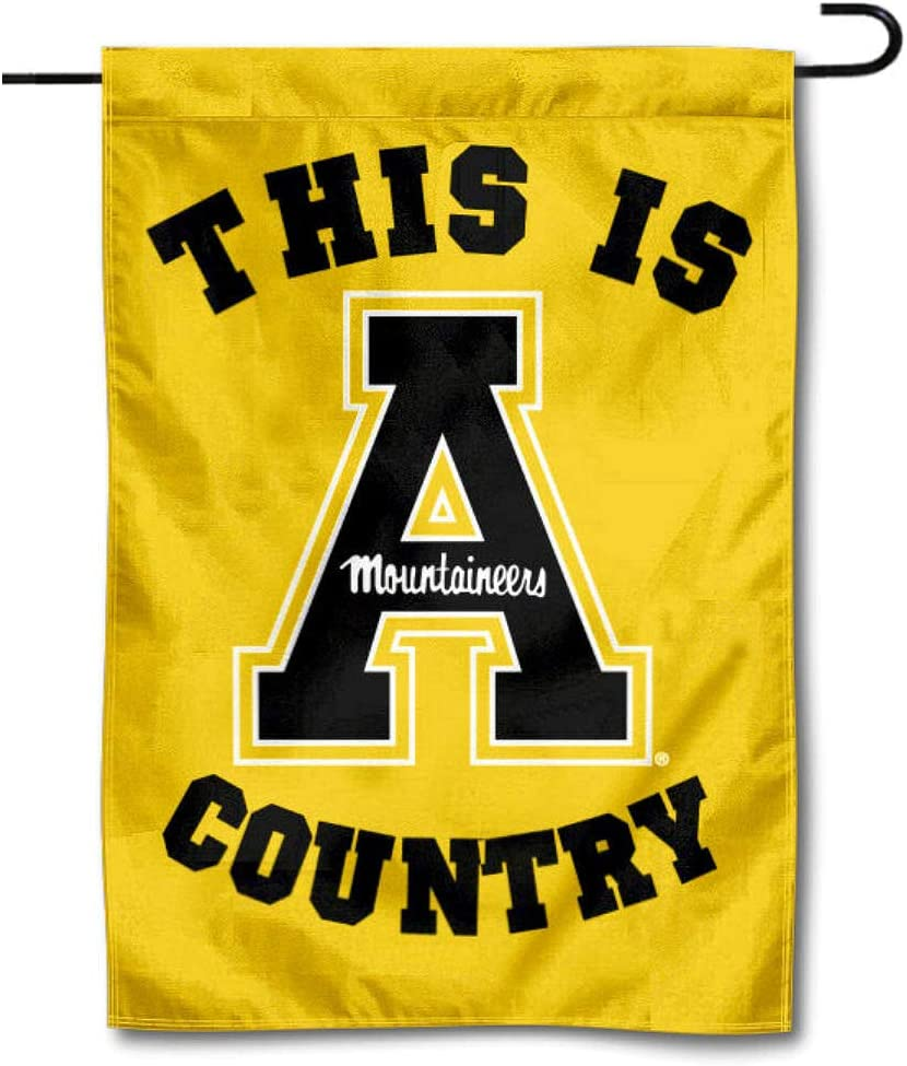 College Flags & Banners Co. Appalachian State Mountaineers This is App State Country Garden Flag