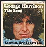 George Harrison George Harrison This Song Dark Horse Records DH 16 856